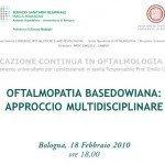 Oftalmopatia Basedowiana: approccio multidisciplinare