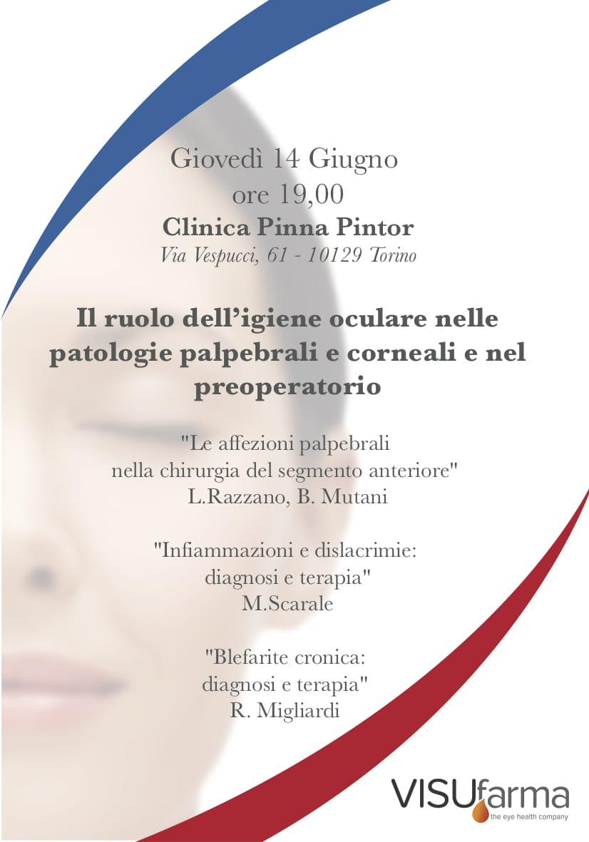 Il ruolo dell'igiene oculare nelle patologie palpebrali e corneali e nel preoperatorio