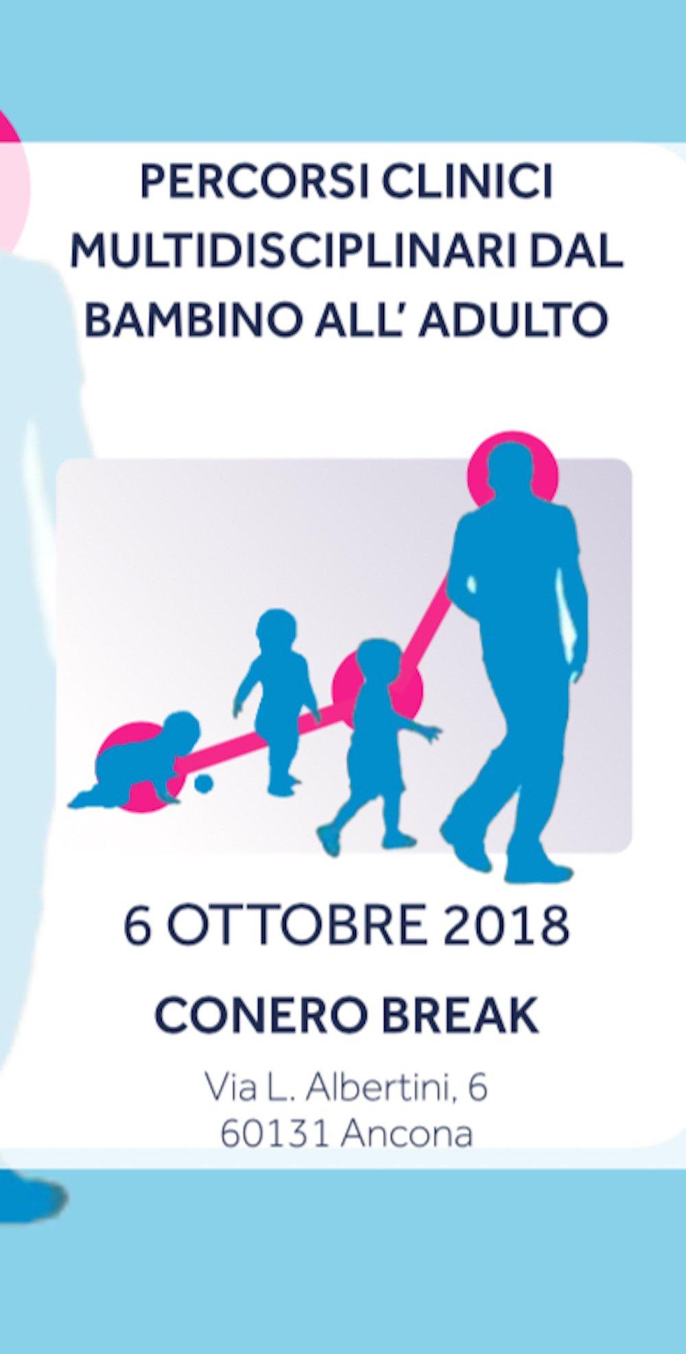 PERCORSI CLINICI MULTIDISCIPLINARI DAL BAMBINO ALL'ADULTO 06.10.18