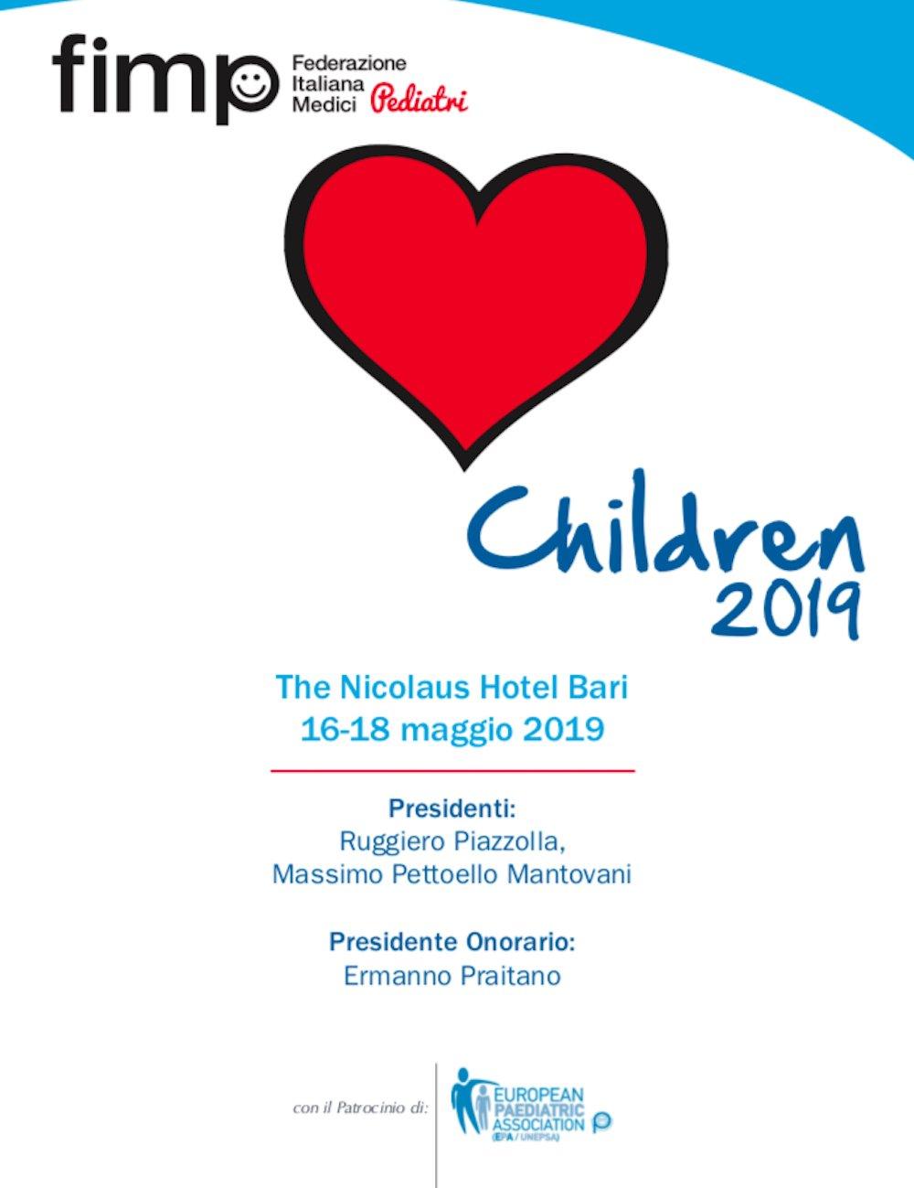 bambini 2019 immagine del congresso di bari