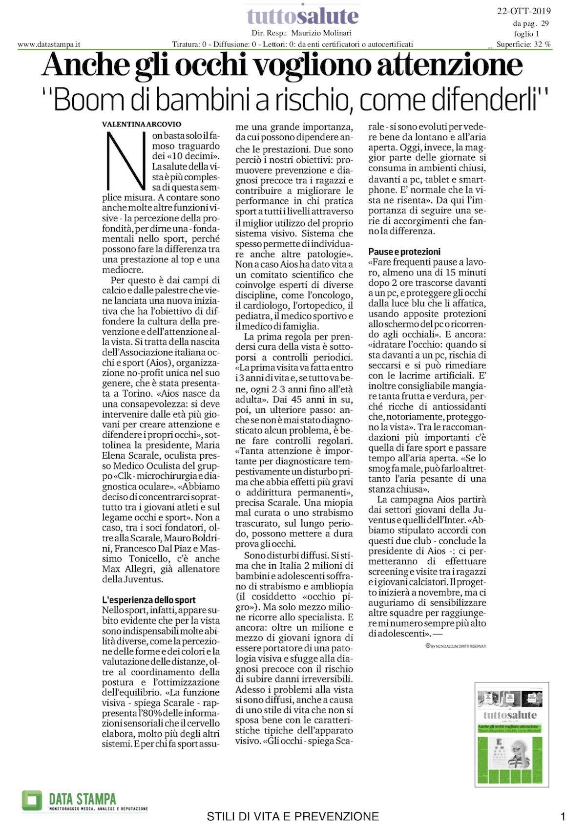 associazione italiana occhi e sport 1