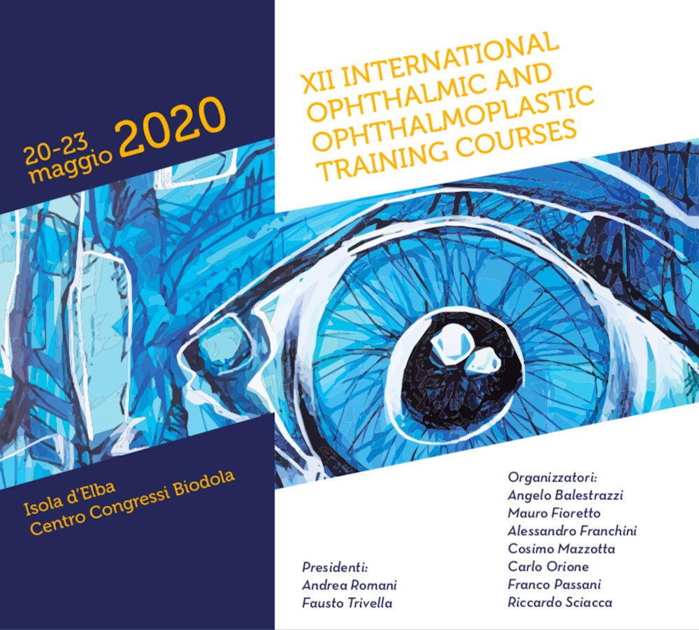 xii international ophthalmic and ophthalmoplastic training courses